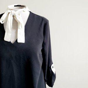 🎁 FREE w/ Bundle Zara Basic Tie Shift Dress